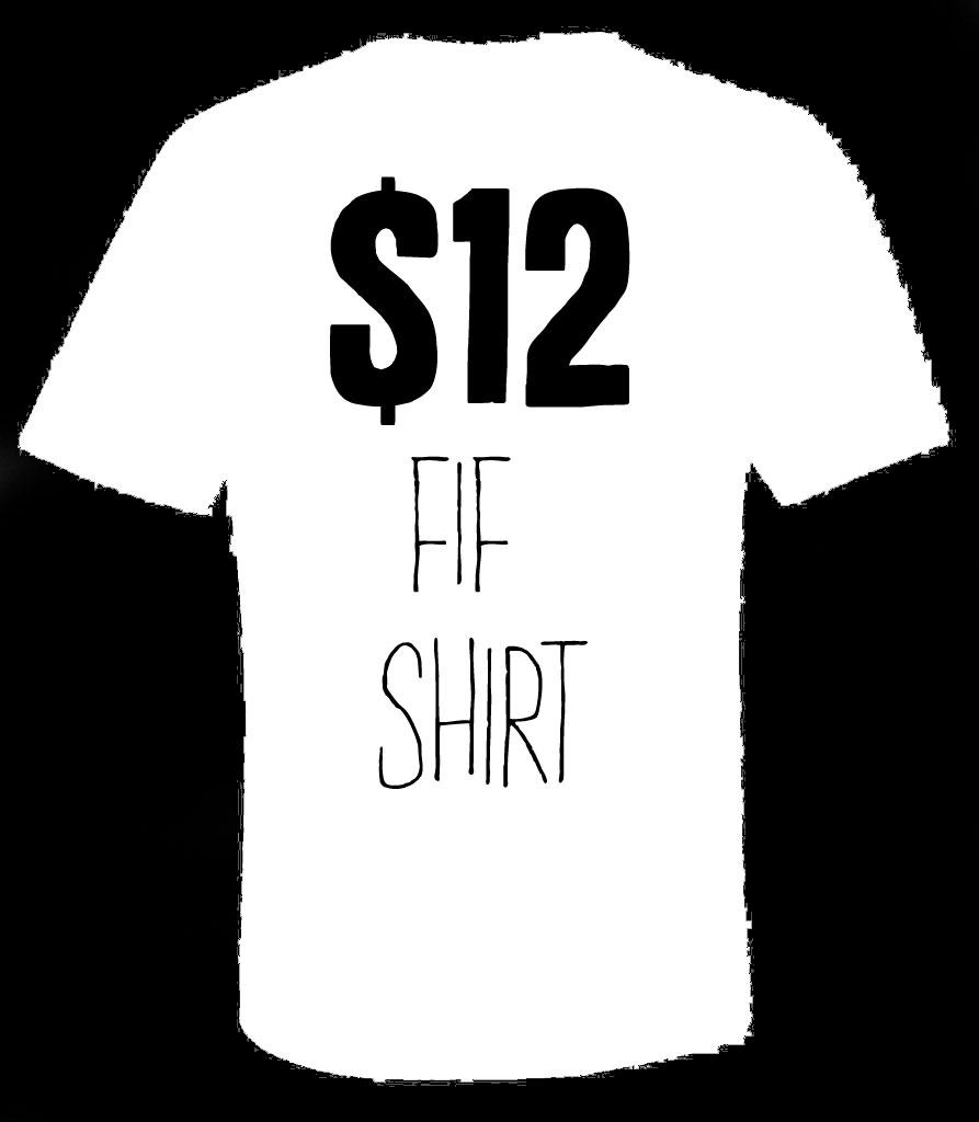 $12 Five Iron Frenzy T-Shirt